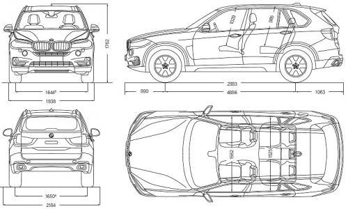 BMW X5 F15 SUV • Dane techniczne • AutoCentrum.pl