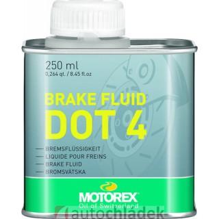 MOTOREX brake fluid DOT4 250 ml   Auto Chládek s.r.o.