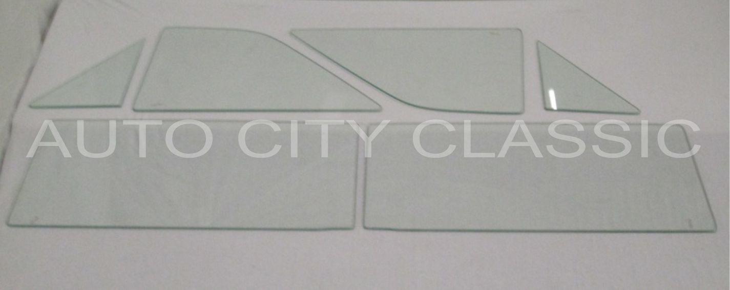1963 Chevy II / Nova Convertible Side Glass Set N63SC