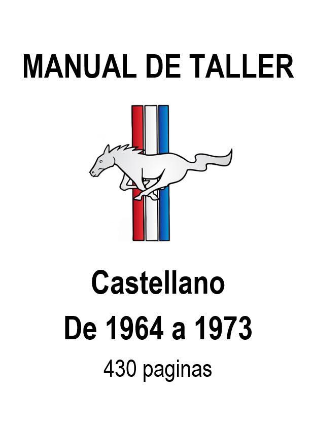 Manual de Taller en castellano. Venta online. Ford Mustang