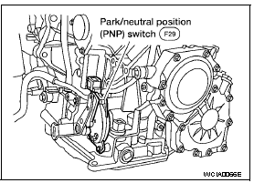 P0705 2006 Nissan Altima Sedan Park/Neutral Position