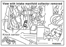 P0327 2004 Infiniti G35 Knock Sensor Circuit Low Input Bank 1