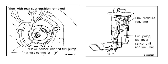 P0463 Fuel Level Sensor Circuit Signal High Open