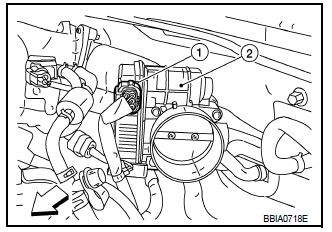 P0122 2007 Nissan Maxima Throttle Position Sensor/Switch