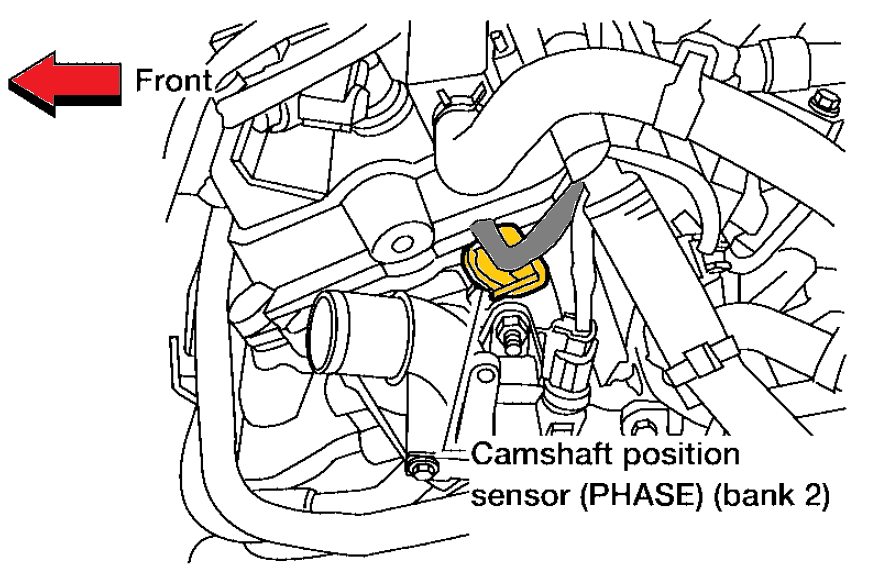 2007 Nissan Quest Crankshaft Position Sensor Location