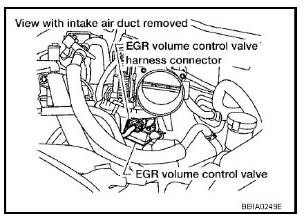 P0405 2005 NISSAN MAXIMA Exhaust Gas Recirculation