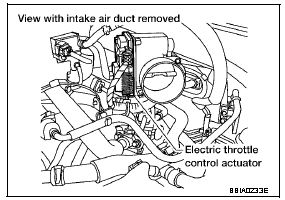 P2135 2004 NISSAN MAXIMA Throttle Position Sensor Circuit