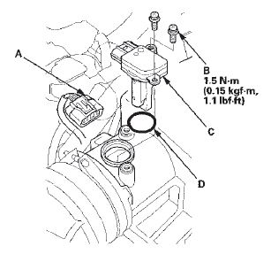 P0112 2008 HONDA ACCORD Intake Air Temperature Circuit Low