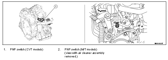P0850 2007 NISSAN SENTRA Park/Neutral Switch: Code Meaning