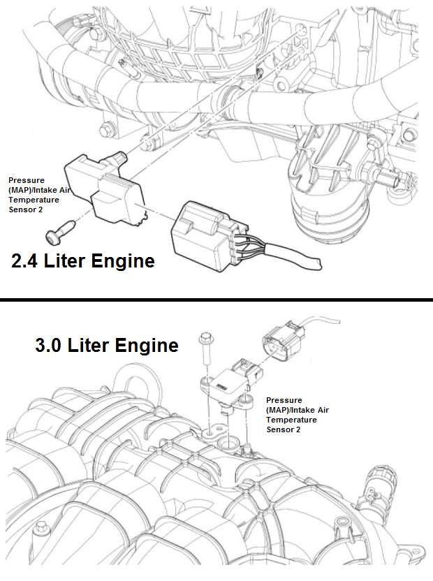 P0106 2007 FORD FUSION Manifold Absolute Pressure