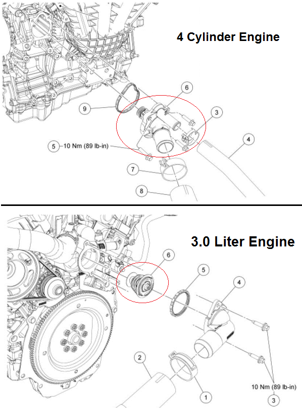P0196 2006 FORD FUSION Engine Oil Temperature Sensor