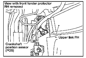 P0335 2006 NISSAN PATHFINDER Crankshaft Position Sensor