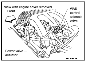 P1800 2005 NISSAN PATHFINDER Variable Intake Air System