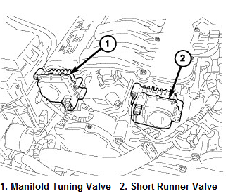 P2017 2007 DODGE CHARGER Short Runner Valve Position