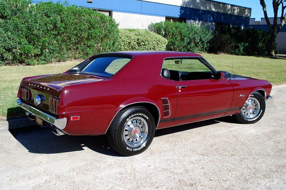 1969 Ford Mustang Hatchback