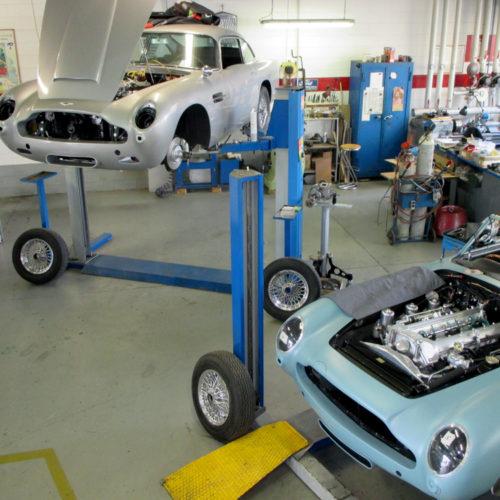 Aston Martin DB5 e DB5 Cabriolet