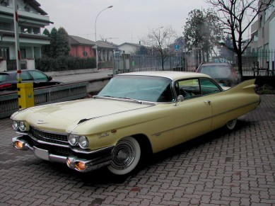 Restauro Cadillac