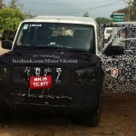 Facelifted Mahindra Scorpio readies for 2014 launch