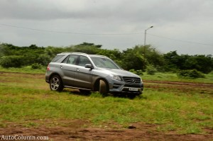 2013 ML 350 CDI in action