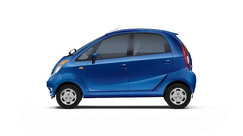 2013 Tata Nano Side profile