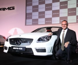 SLK AMG 55 launched in India