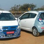 Chevrolet Beat facelift spied