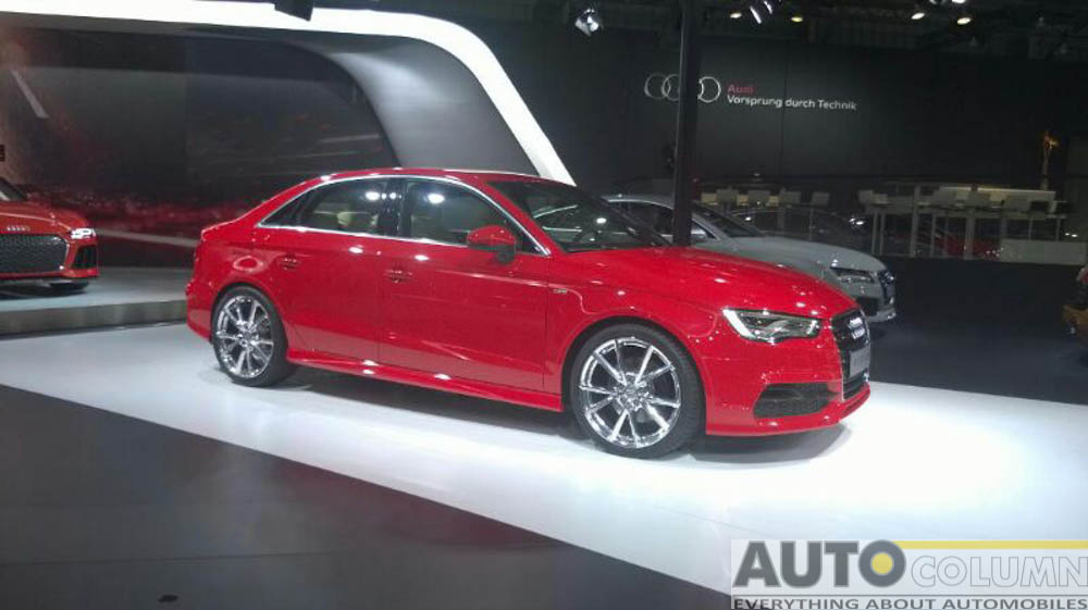 2014 Audi A3 unveiled