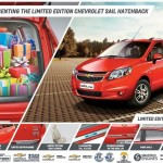 Chevrolet Sail and Sail U-VA limited edition launched