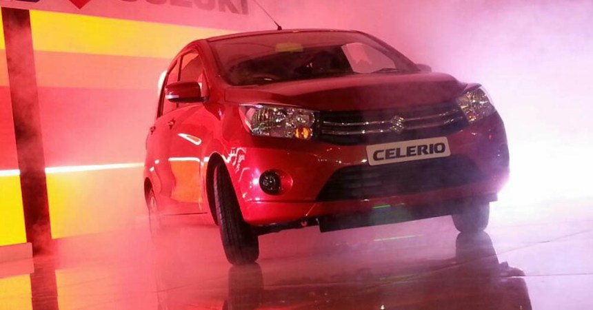2014 Maruti Suzuki Celerio in red