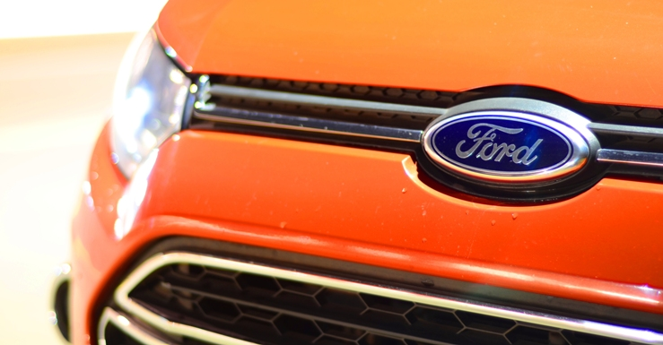 Ford EcoSport's Ford badge