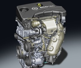 General Motors 1 liter 3 cylinder turbo petrol engine