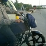 TVS 110cc Phoenix based commuter spied
