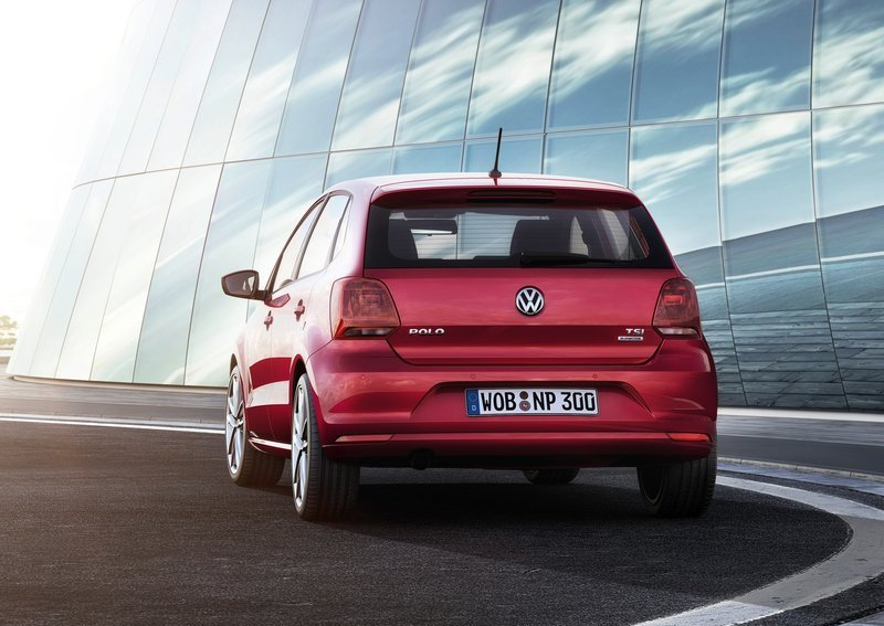 2014 Volkswagen Polo Rear