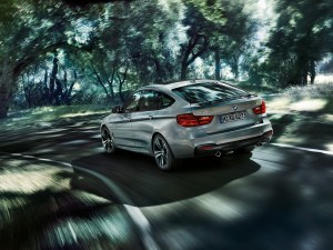 2014 BMW 3 series GT rear