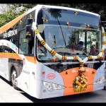 India's first electric bus service starts in Bangalore