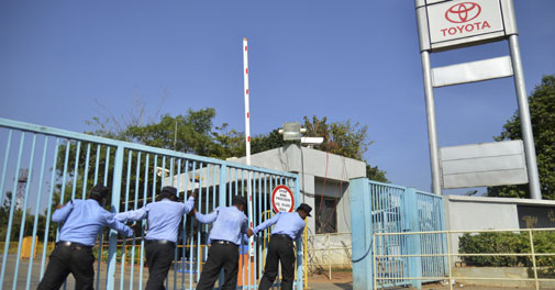 The TKM Bidadi plant remains locked out despite numerous efforts to resolve the industrial dispute