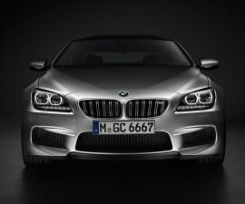 2014 BMW M6 Gran Coupe front