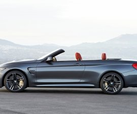 2015 M4 Convertible side
