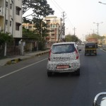 AutoColumn Exclusive: Tata Nano Active AMT spotted on test