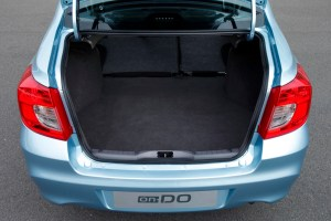 Datsun on-Do boot space