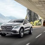 Mercedes Benz Concept Coupé SUV revealed, likely to be called MLC-Class