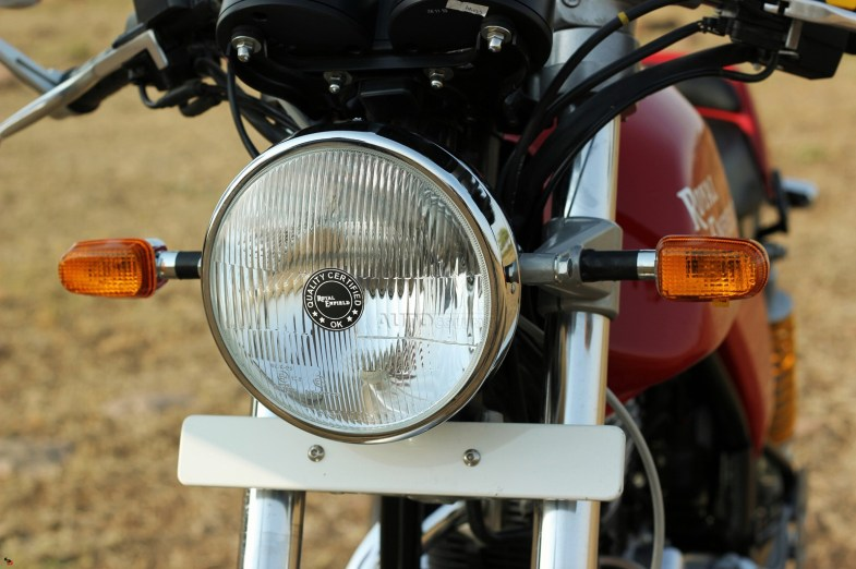 Royal Enfield Continental GT headlamp
