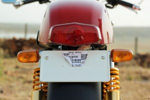 Royal Enfield Continental GT tail lamp
