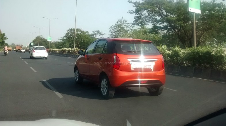 2014 Tata Bolt rear three quarters