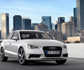 2014 Audi A3 sedan front three quarters