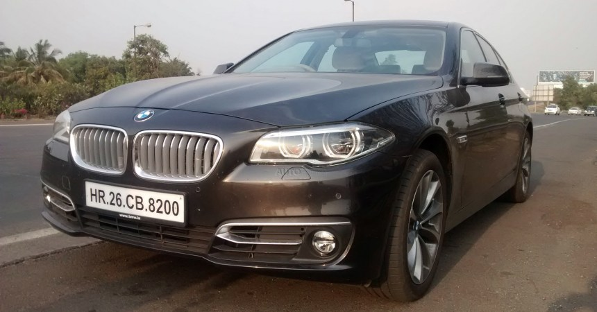 2014 BMW 520d front three quarters