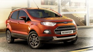 2014 Ford EcoSport front three quarters