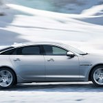 2014 Jaguar XJ side profile