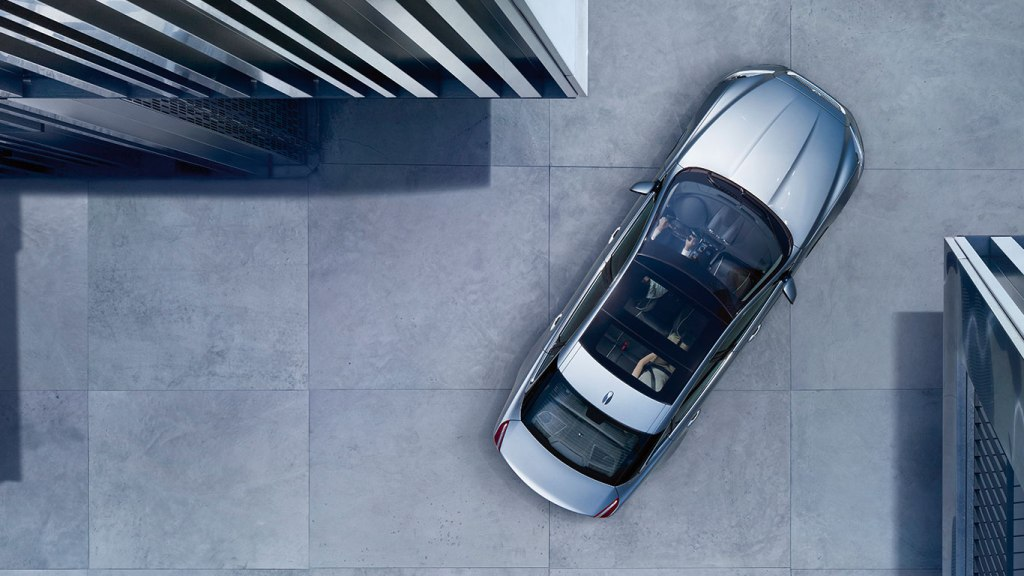 2014 Jaguar XJ top view