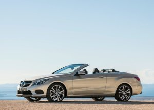 2014 Mercedes Benz E Class Cabriolet side profile